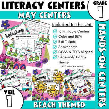 May Centers--First Grade ELA