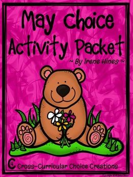 May Choice Activity Packet: Spring No Prep Cross-Curricula