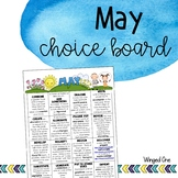 May Early Finishers: Choice Board