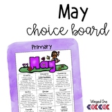 May Early Finishers Choice Board