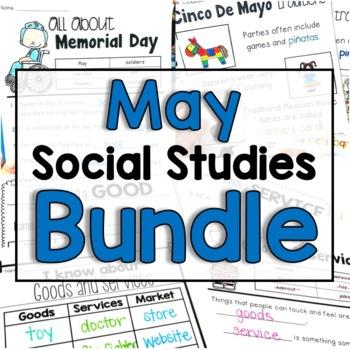 """May """"Click-and-Print"""" Social Studies"""