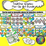 May Clip Art Bundle –Chalkstar Graphics