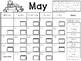 May Clip Chart Behavior Calendar