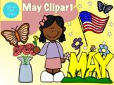 May Clipart