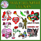 May Clipart - Celebrate Events