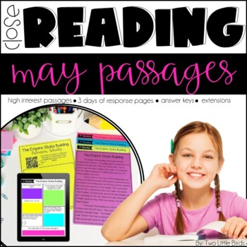 Close Reading Passages & Activities for May