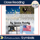 Close Reading: American Symbols {Standards Based}