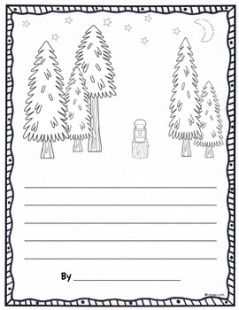 May Color & Write (Writing Prompts Journal for K-2)