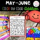 May Color by Code Addition Freebie