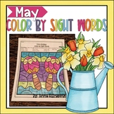 May Color by Sightwords