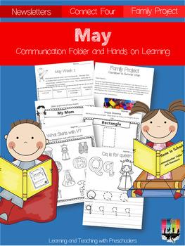 May Communication Folder and Homework Packet