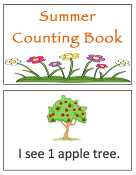 Summer Counting Books