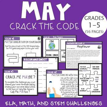 May Crack the Code (Grades 3-5)