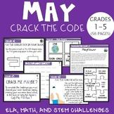 May CRACK THE CODE (Grades 1-5)