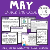 May CRACK THE CODE (Grades 1-5)