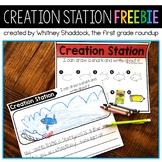 Creation Station FREEBIE for Kindergarten