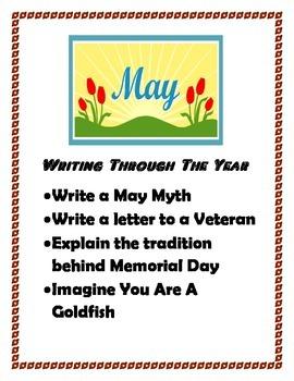 May Creative Writing Packet