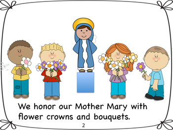 May Crowning of Blessed Mother Mary by Miss P's PreK Pups | TpT
