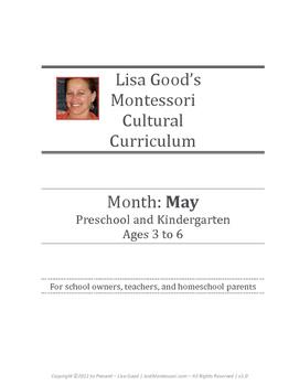 May Cultural Curriculum Weeks 35-38 (Northern Hemisphere)