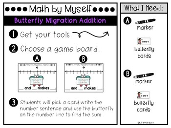 May Daily 3 Math by Myself Games