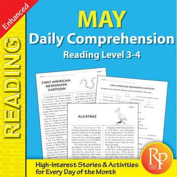 May: Daily Comprehension - Enhanced