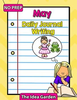 May Daily Journal Writing - NO PREP