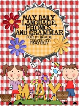 May Daily Language Arts, Phonics, and Grammar - 1st Grade