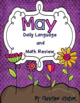 May Daily Language and Math Practice