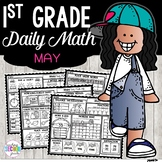 May Daily Math (1st Grade) - Use for morning, homework or
