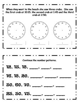 May Daily Math Journal