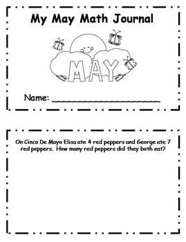 May Daily Math Journal