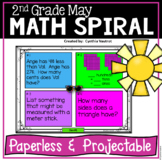 Daily Math Spiral for 2nd Grade - May