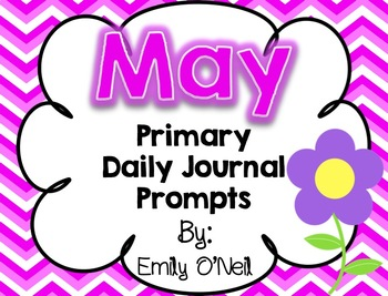 May Daily Primary Journal Prompts