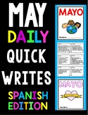 May Daily Quick Writes-Spanish version