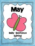 May Daily Sentence Editing