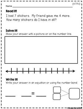 May Daily Word Problems