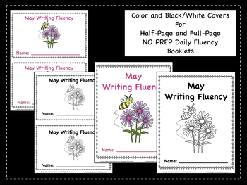 May Daily Writing Fluency Prompts - 31 Sentence Starters