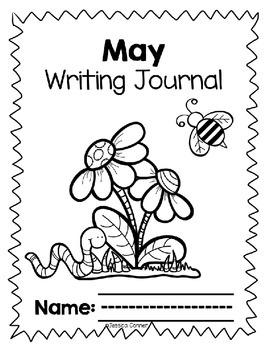 May No Prep Writing Journal