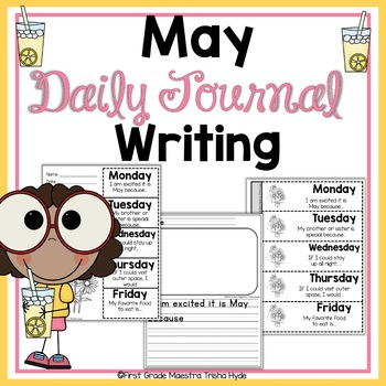 May Daily Quick Writes Writing Journal