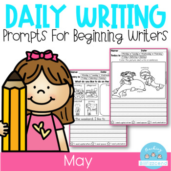 May Daily Writing Prompts for Beginning Writers