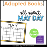 May Day Adapted Books [Level 1 and Level 2] Digital + Printable