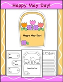 May Day Baskets, Tags, and Writing Template