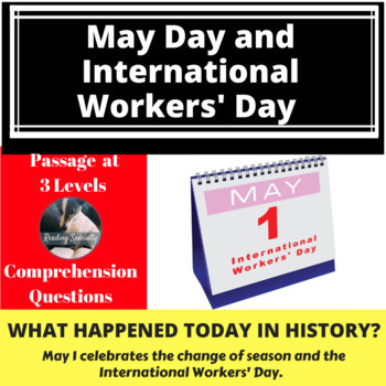 May Day-Haymarket Incident  Differentiated Reading Passage May 1