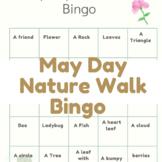 May Day Nature Walk Bingo