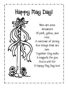 May Day Poem Freebie