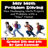 May Math Problem Solving Projects for Upper Elementary Students