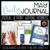 Distance Learning May Digital Writing Journal for Google D