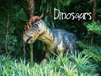 May Dinosaur Vocabulary Lesson Plans