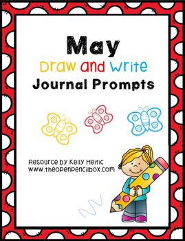 May Draw and Write Journal Prompts