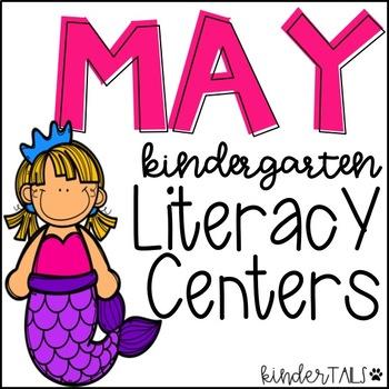 May ELA Centers for Kindergarten